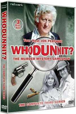 Whodunnit: The Complete Third Series DVD NEW & SEALED