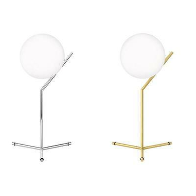 FLOS IC T1 HIGH TABLE LAMP - Brass/Silver