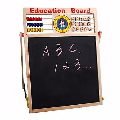 Children EDUCATION Chalk White Board Easel Creative Reading MATHS Writing KidS