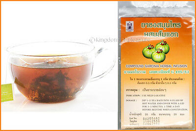 Garcinia Cambogia Tea Bag Laxative Colon Cleanse Fat Burner Slim