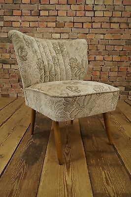 WOW 50s Retro COCKTAIL CHAIR ARMCHAIR DANISH FAUTEUIL VINTAGE STILNOVO WOW 15
