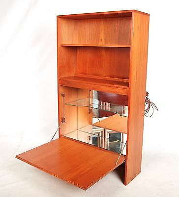Retro Vintage Cocktail Cabinet G Plan Bookcase Top Teak Top Cocktail Cabinet 196