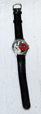 Promo Red apple Ebay Watch Time for Ebay.com Europa Watch Co. EUC