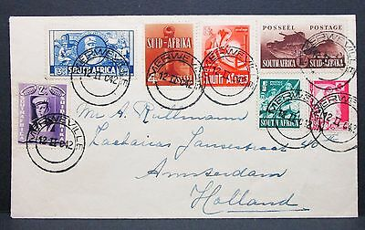 South Africa Suid-Afrika Südafrika Holland Amsterdam Patriotic Tank Brief I-7841