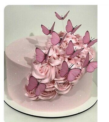 41 flowers ready to use EDIBLE laces Aniversary cake BabyShower Birthday wedding