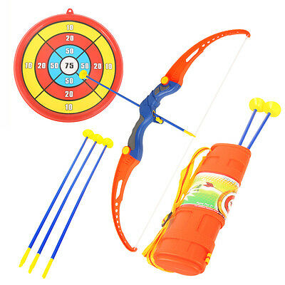 Bow and Arrow Kids Toys ABS Plastic Simulation Shooting Outdoor Game Sucker Toy