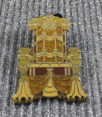 Disney Princess Royal Hall Mystery Set Beauty and the Beast Belle Throne Pin LR