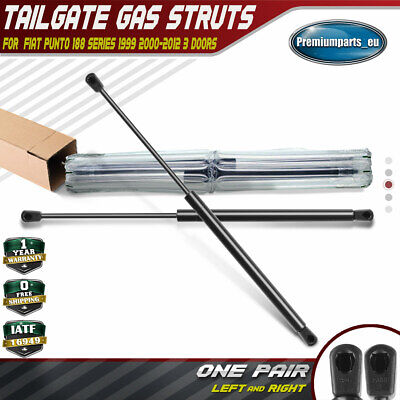 2x Tailgate Rear Boot Gas Struts Springs for Fiat Punto 99-12 Hatchback 3 Door