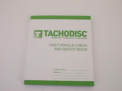 Driver's Defect Book HGV 50 report forms,Designs vary.Tachograph product