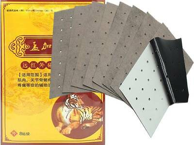 8 Pieces Sumifun Deep Heat Pain Relief Balm Tiger Plaster Patches Chinese Balm
