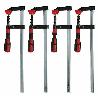 4 X F-Clamps Adjustable Metal Clamp Woodworking Tools Wood Clamping 300 x 50mm
