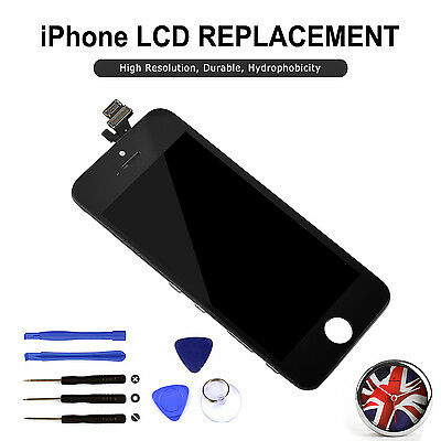 LCD For iPhone 5 Black Screen Replacement Touch Display Digitizer Assembly Tools