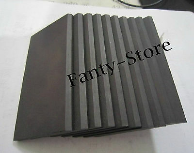 1pcs High Purity 99.99% Graphite Rectangle Plate Sheet 300*200*20mm #U6P-20