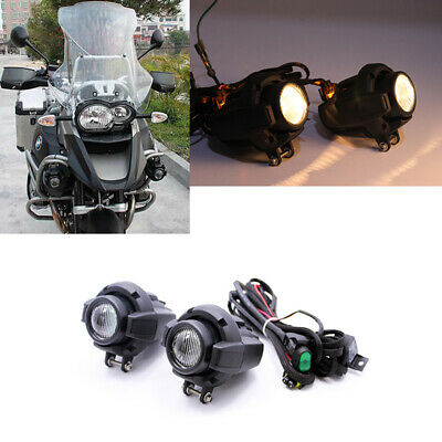 Cree Led Auxiliary Fog Light Assemblie Safety Lamp For Bmw R1200gs