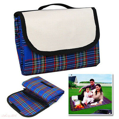 Extra Large Waterproof Picnic Blanket Rug Travel Outdoor Beach Camping Soft UK