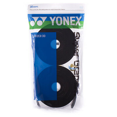 Yonex Super Grap Over Grips (30 Grips) BLACK