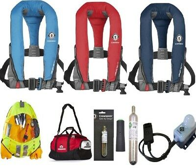 Crewsaver Crewfit Lifejacket Sport 165N All Options Available Free Surface Light