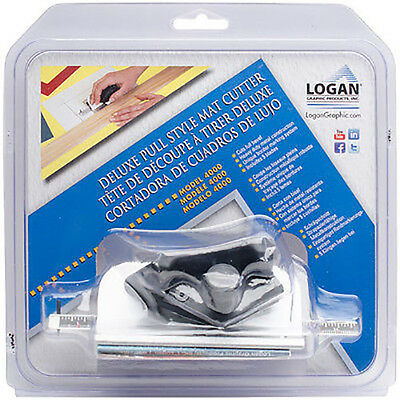 Logan Deluxe Pull Style Mat Cutter Model 4000 NEW!