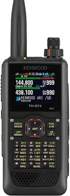 New Kenwood TH-D74E VHF/UHF Dual Band Handheld with GPS