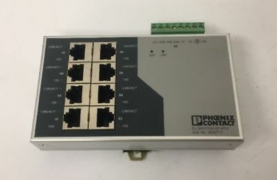 Phoenix Contact Ethernet Switch FL SWITCH SF 8TX Ord.Nr.: 2832771