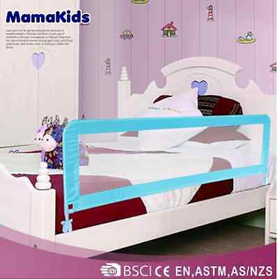 MamaKids High Quality Bed Rail Guard Bedrail Pink And Blue - Child Safety