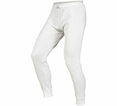 Alpinestars FIA Approved Race Bottoms / Trousers / Underwear Rally White Large