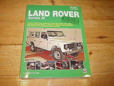 Sale Book - Landrover Series 111 Reborn. (Essential How-to Guide). Was £30.00