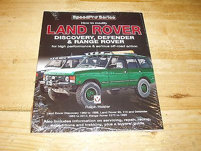 Shrinkwrapped Sale Book - How to Modify Your Landrover Discovery, Defender etc.