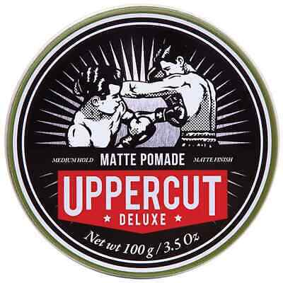 Uppercut Deluxe Matt Pomade 100g Mens Hair Styling Hair Product **GENUINE**