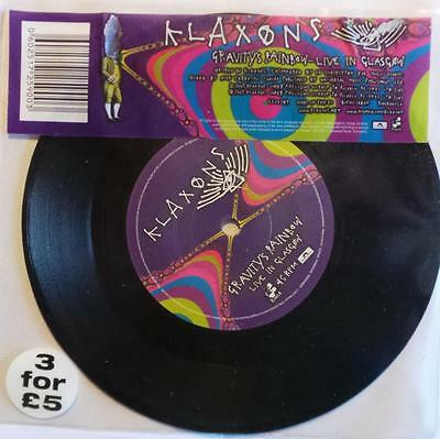 "The Klaxons - Gravity's Rainbow - 7"" Single-Sided Etched Vinyl Single"