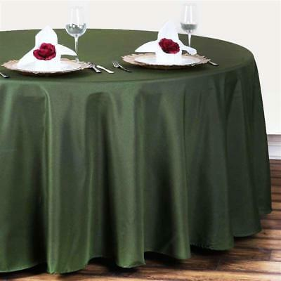 Willow Green 120 in. Polyester Seamless Tablecloth~Wedding~NEW