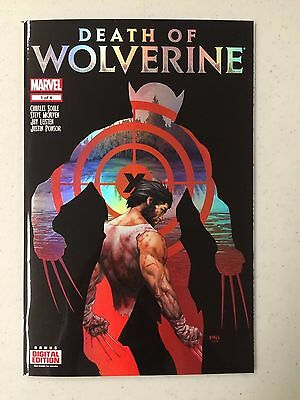 Death of Wolverine #1 1st Print Foil Cover Logan BACK ISSUE SALE THIS MONTH