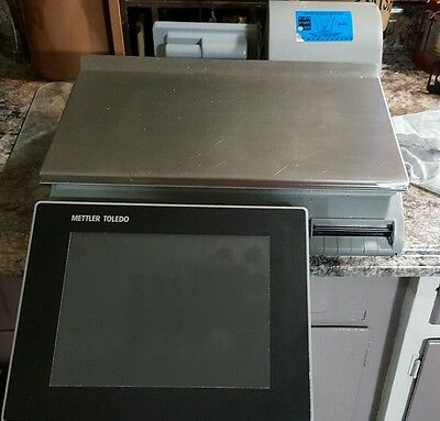 Mettler Toledo Smart Touch Scale  model Impact M (Pact M) Deli Scale & Printer