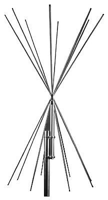 Scanking Royal Double Discone 5 To 2000 MHz Antenna