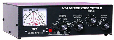 MFJ-948 1.8 To 30MHz 300W Deluxe Manual Tuner