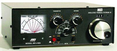 MFJ-969 1.8 To 54MHz 300W Manual Tuner With Roller Inductor