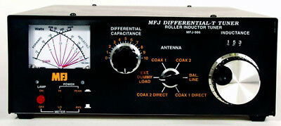 MFJ-986 1.8 To 30MHz 3000W Manual Tuner With Differential T