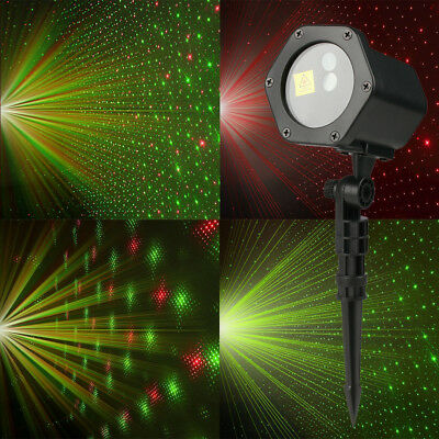 Outdoor R&G Projector Moving Laser Lamp For Landscape Garden Xmas Stage Light MR