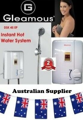 New Gleamous DSK-45EP 3.3 kw Portable Instant Hot Water Heater with Shower