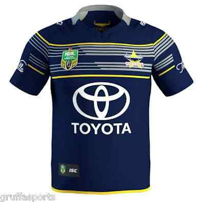 North Queensland Cowboys 2017 Home Jersey Mens & Ladies Sizes Available NRL ISC