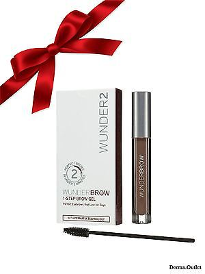 Wunderbrow Wunder2 Brunette Perfect Brows 100% Authentic Free Fast Shipping