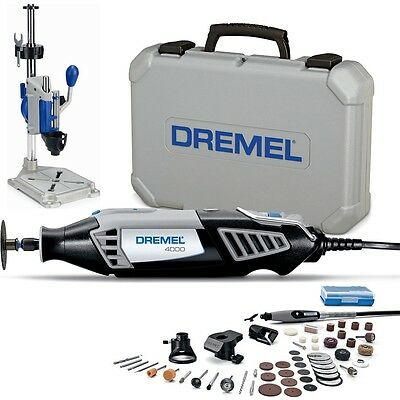 Dremel 4000-4/50 - 240V Variable Speed Rotary Multi Purpose Tool And WorkStation