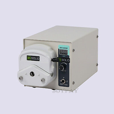 Peristaltic Pump 1.7 - 435 ml/min per Channel 2 Channel 1-150 rpm U.S. Solid®