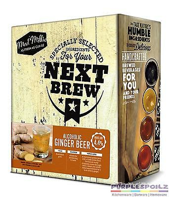 NEW MAD MILLIE YOUR NEXT BREW GINGER BEER KIT Home Brew 9 LITRES