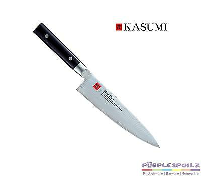 """NEW KASUMI CHEFS KNIFE 20CM GIFT BOXED Slice Slicing Cut Chop 8"""" Japan"""