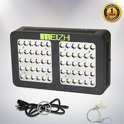 MEIZHI 300W LED Grow Light Reflector Full Spectrum Hydroponics Plant Lamp Indoor