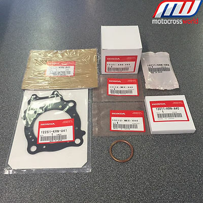 BRAND NEW in the box complete Genuine OEM Honda Piston Kit for CRF250R 2016