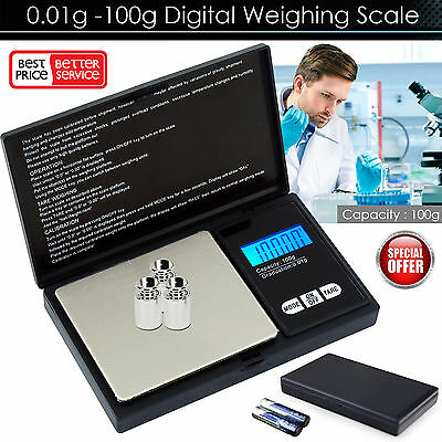 Mini Electronic Digital Jewellery Weighing Pocket Scale 0.01g Weight 100 Gram