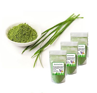 Young Barley Grass Powder 500g Superfood Vitamin 100%Pure Detox Diet Weight Loss
