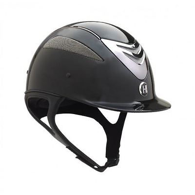 OneK Defender Gloss Horse Riding Show Jumping Dressage Competition Helmet PAS015